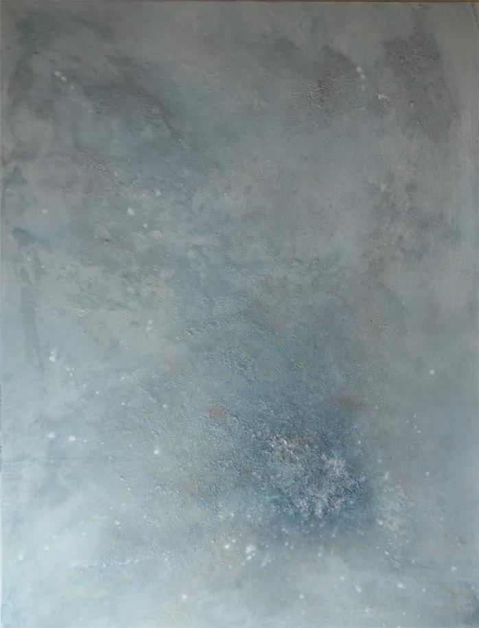 Toile polyChrome, série Astrale